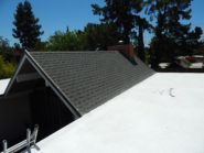 spray foam and shingle roof