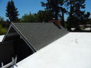 spray foam and shingle roof