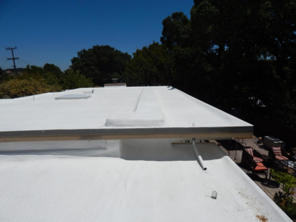 commercial roof spray foam