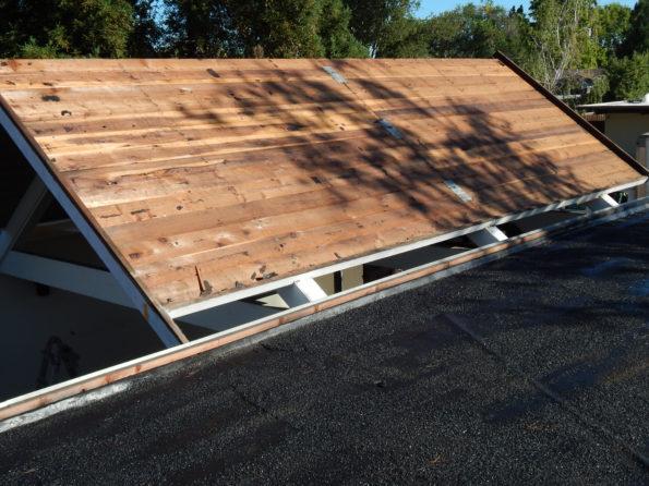 eichler a-frame roof